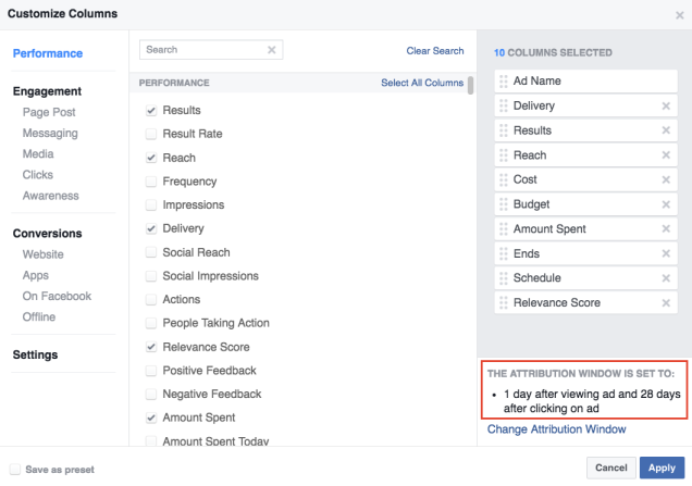 facebook-attribution-window