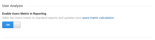 enable-users-metric-Google-analytics
